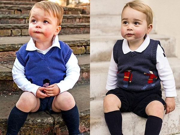Pipi Hingga Gaya Rambut, Bocah Ini Disebut Mirip Pangeran George!