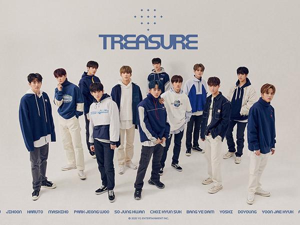 TREASURE Pecahkan Rekor Pre-Order Album Rookie YG Entertainment