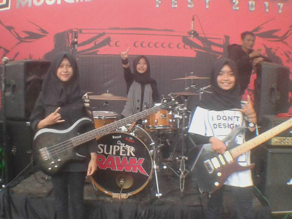 VoB, Grup Band Hijab Beraliran Metal yang Tengah Viral!