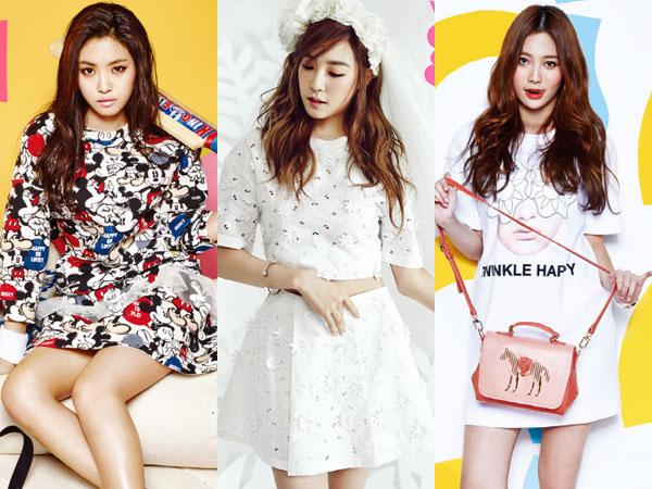 Cantiknya Para Idola K-Pop Ini dalam Pemotretan untuk Kampanye 'Pink Wings' Vogue