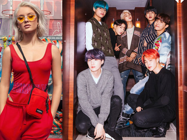 Sampai Berbohong, Zara Larsson Ungkap Sulitnya Jaga Rahasia Kolaborasi Bareng BTS