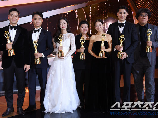 Didominasi 'Parasite', Inilah Pemenang 40th Blue Dragon Film Awards