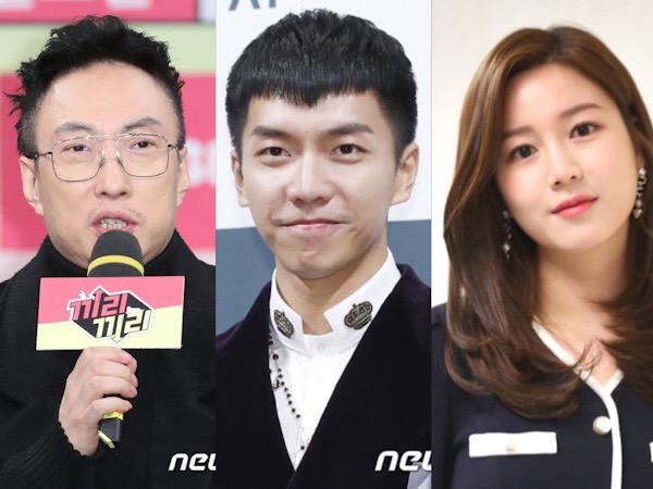 Park Myung Soo Diprotes Netizen Gegara Dukung Lee Seung Gi dan Lee Da In