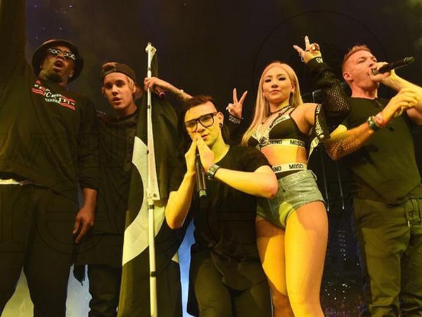 CL 2NE1 Gabung Bersama Justin Bieber, Skrillex, & Diplo di 'Ultra Music Festival 2015' Miami!
