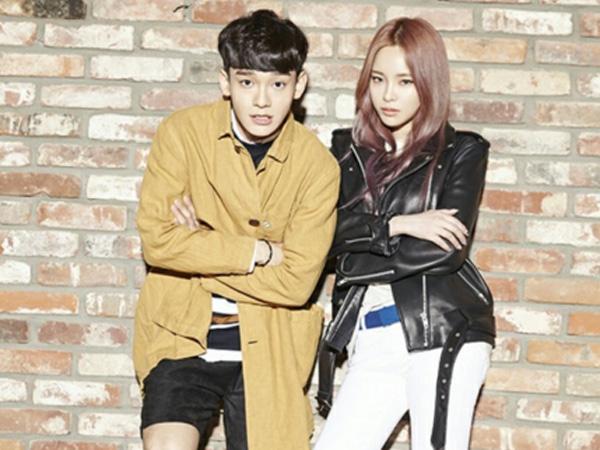 Resmi Rilis, Chen EXO dan Heize Saling Curi Pandangan di Video Musik 'Lil' Something'