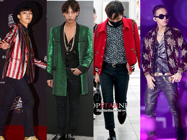 Simak G-Dragon dan Kegemarannya Kenakan Outfit dari Saint Laurent Yuk!