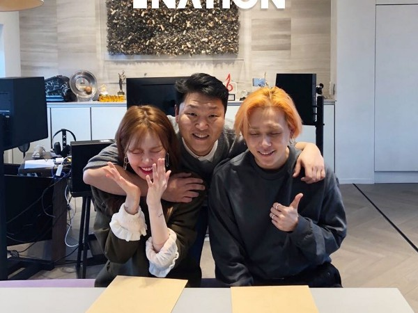 HyunA dan E'Dawn Kompak Gabung ke Agensi Baru PSY, P NATION