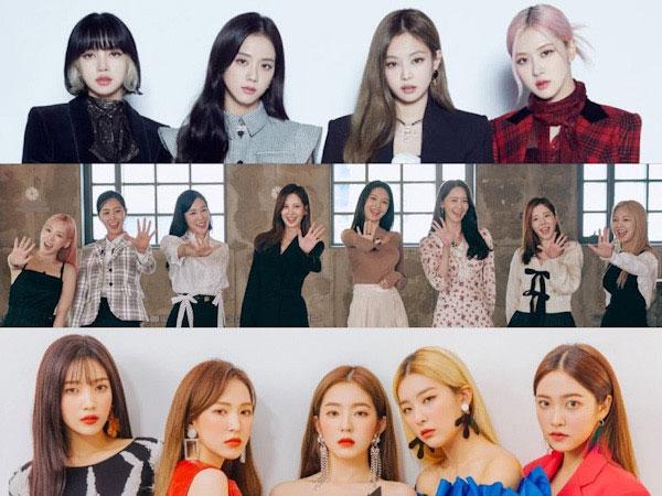 BLACKPINK, SNSD, Red Velvet Catatkan Reputasi Brand Terbaik Bulan Ini