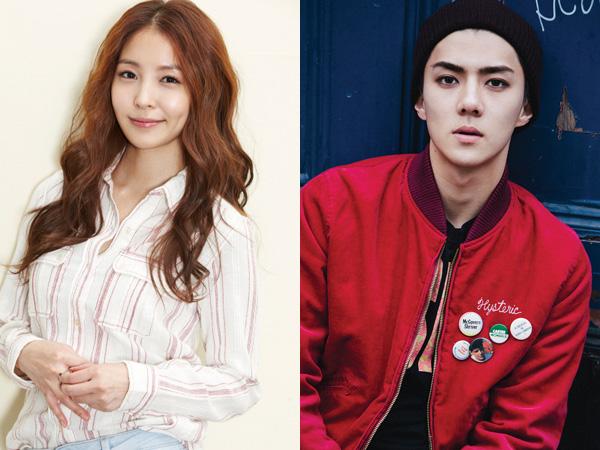 Siap Comeback, BoA Gaet Sehun EXO Jadi Bintang Utama di Video Musiknya
