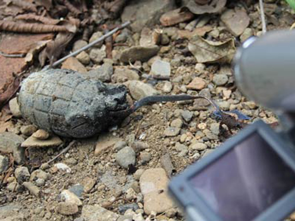 Granat Aktif Peninggalan Perang Ditemukan di Bekasi
