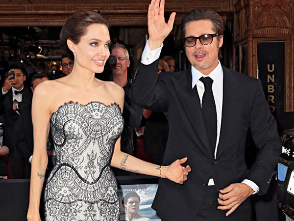 Angelina Jolie dan Brad Pitt Telah Menikah Sebelum Pesta Pernikahan Mereka di Perancis Agustus Lalu?