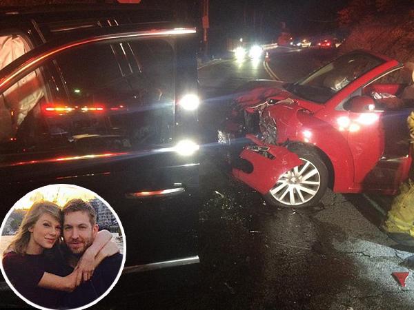 Calvin Harris Terlibat Kecelakaan Mengerikan, Ini Reaksi Pertama Taylor Swift