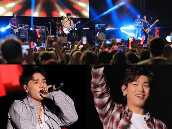 Seru, Intip Lagi Momen 'Mantap Mantap' Para Idola K-Pop di Konser 'Saranghaeyo Indonesia 2017'!