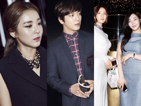 Para Aktor dan Idola K-Pop Tampil Glamour di Event 'Dior Exhibit Opening' Seoul