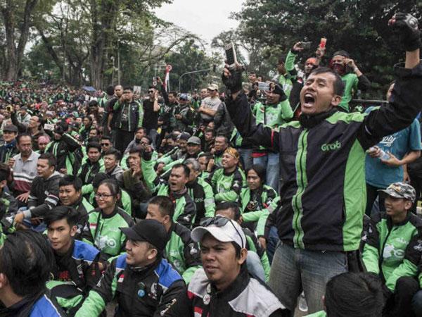 Duh, Pembukaan Asian Games 2018 Akan Diwarnai Aksi Demo Jutaan Ojek Online