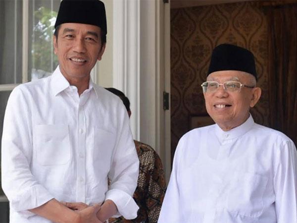 Inilah Foto Resmi Jokowi-Ma'ruf Amin Sebagai Presiden-Wakil Presiden Republik Indonesia