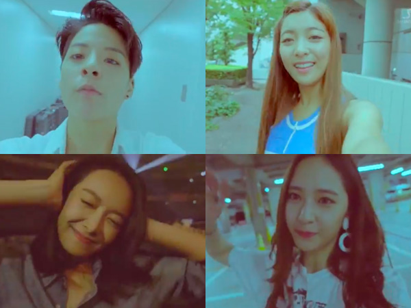 Rilis MV 'All Mine', Intip Keseruan Self-Cam Para Member f(x) di Backstage SMTOWN Osaka