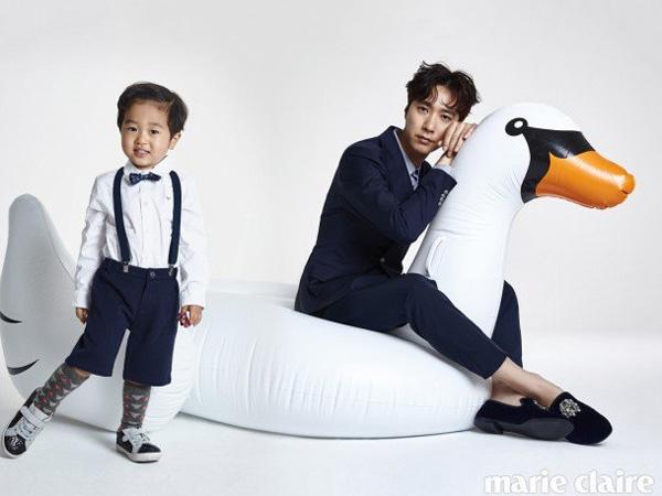 Bikin Gemas, Begini Gaya Classy Go Ji Yong dan Seungjae 'Superman Returns' di Marie Claire