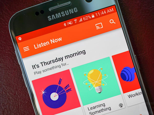 Ingin Bersaing dengan Spotify, Google Play Music Jadi Aplikasi Wajib di Ponsel Samsung