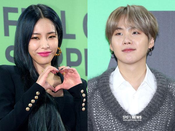 Begini Reaksi Member BTS Saat Lagu Suga Dibawakan Heize di Panggung MMA 2019
