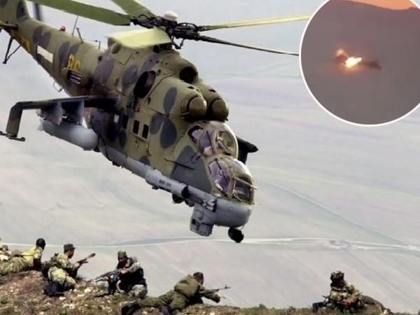 Dihujat Netizen, Ini Detik-Detik Memilukan Helikopter Ditembak Jatuh Oleh ISIS di Suriah