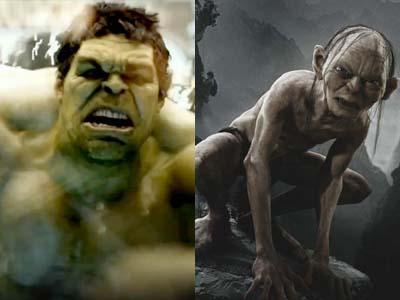 Wah, Hulk Akan Dibantu Gollum di 'Avengers: Age of Ultron'?