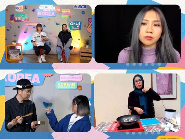 Keseruan Kelas Korea by Festival Kelas KASKUS Bareng Influencer K-Pop Indonesia
