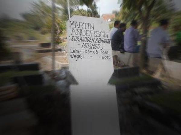 Jasad Terpidana Mati Martin Dimakamkan di Bekasi