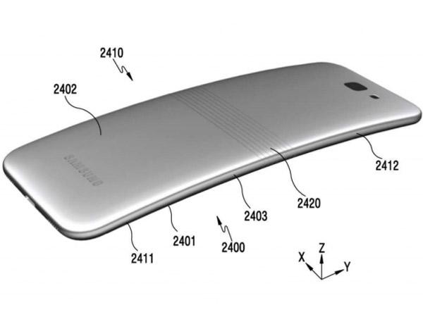 Sudah Dipatenkan, Begini Bentuk Awal Ponsel Lipat Samsung