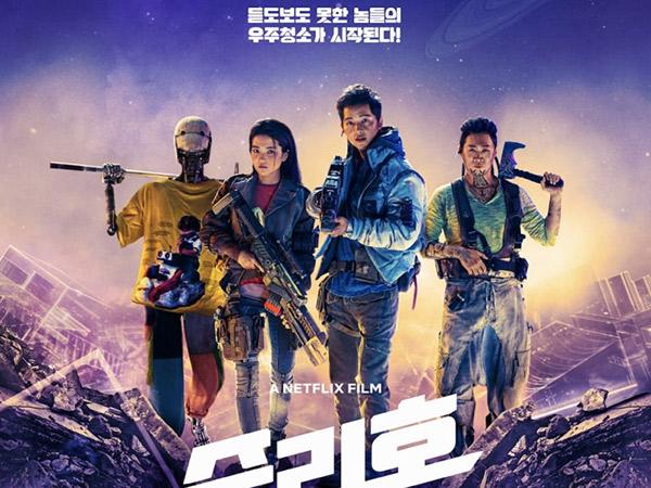 Song Joong Ki Hingga Robot Dorothy Siap Perang di Poster Film Space Sweepers