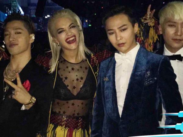 Rita Ora Senang Reunian dengan G-Dragon di Ajang Penghargaan Tiongkok