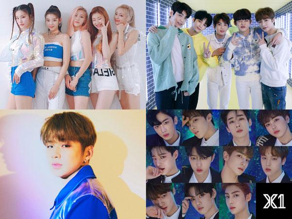 ITZY, TXT, Kang Daniel, Hingga X1, Sengitnya Persaingan Rookie Awards Tahun Ini