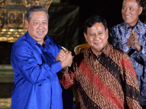 Partai Demokrat Mau Gabung dengan Gerindra Asal Capresnya Bukan Prabowo?