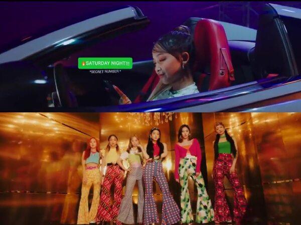 Review MV Secret Number 'Fire Saturday', Comeback Bareng 2 Member Baru
