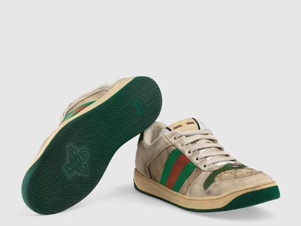 Gucci Rilis Sepatu Kotor dan Lecet Seharga Rp 12 Juta!