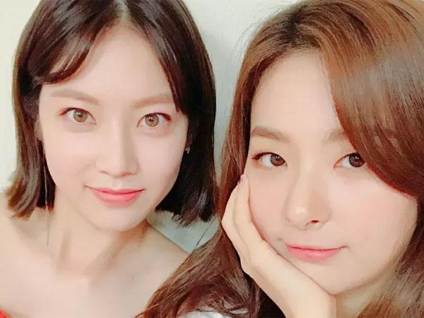Pernah Trainee Bareng, Seulgi Unjuk Kedekatan dengan Gong Seung Yeon