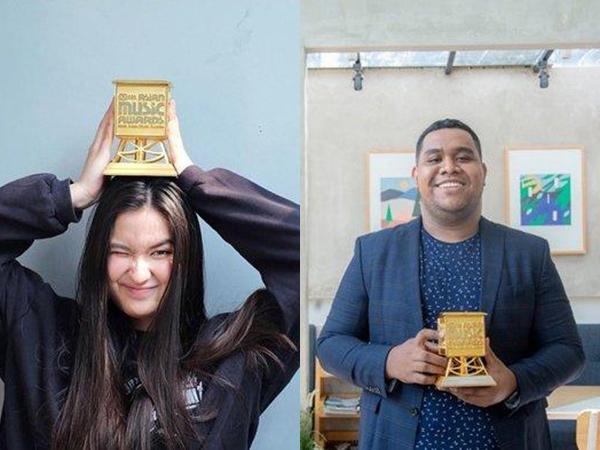 Stephanie Poetri dan Andmesh Kamaleng Bawa Pulang Piala MAMA 2019!