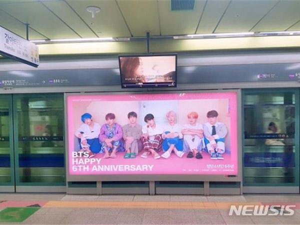 Inilah Idola K-Pop dengan Iklan Subway Terbanyak di Tahun 2019