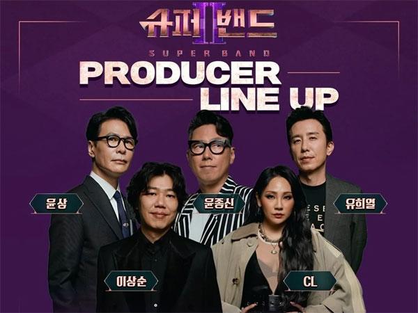 Yoo Hee Yeol Hingga CL Masuk Jajaran Juri JTBC 'Super Band 2'
