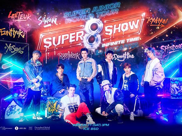 Super Junior Bakal Gelar Konser SS8 Jakarta di Januari 2020