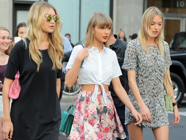 Tak Punya Teman Saat Sekolah Buat Taylor Swift Makin Sayang dengan Geng Selebnya?