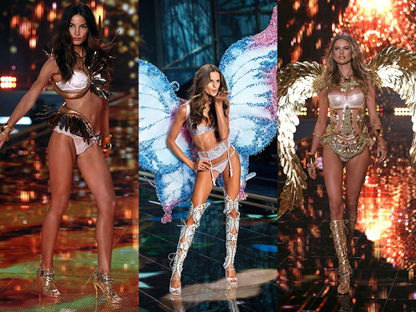 Intip Lingerie Sexy Para 'Angels' di 2014 Victoria's Secret Fashion Show