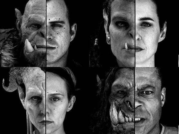 Luar Biasa, Film Game Online 'Warcraft' Rilis Perbandingan Efek CGI dan Wajah Aktornya!