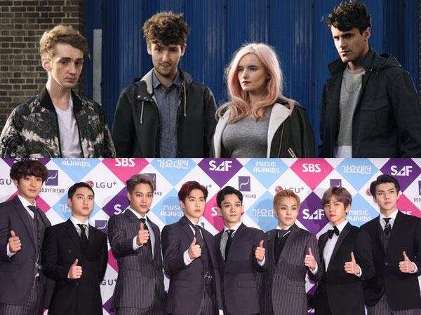 Band Asal Inggris 'Clean Bandit' Tertarik Kolaborasi Bareng EXO