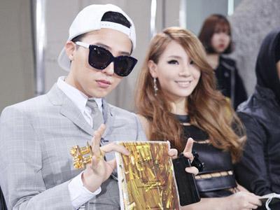 Fans Percaya G-Dragon Big Bang dan CL 2NE1 Akan Berpacaran!
