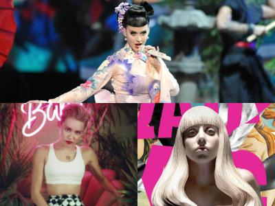 Saingan di Chart Musik, Katy Perry Tetap Beli Album Lady Gaga dan Miley Cyrus