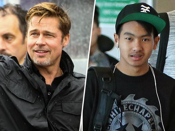 Sempat Berseteru dengan Anaknya, Akhirnya Brad Pitt Temui Maddox
