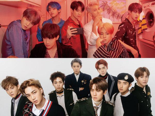 Menang Tahun Lalu, BTS Akan Bersaing dengan EXO di AMA 2019