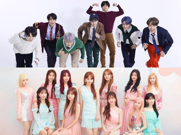 IZ*ONE Debut, BTS Masih Dominasi Chart Billboard World Albums Minggu Ini