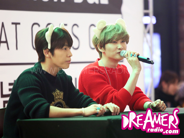 Yuk Intip Serunya Acara Fansigning Donghae & Eunhyuk di IFC Mall, Seoul